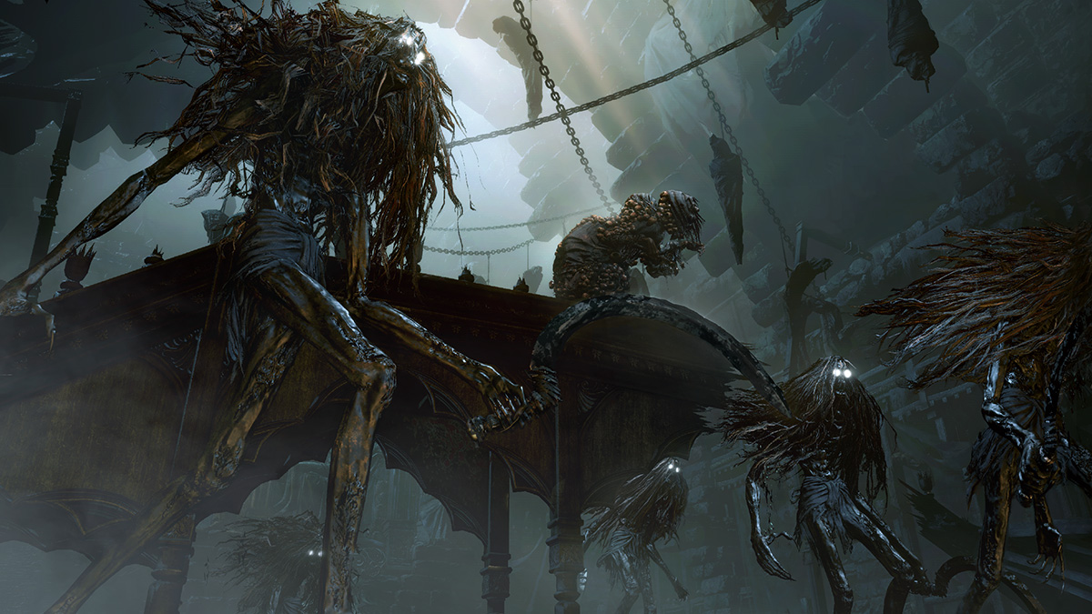 Obrazem: Nová postava, nepřátelé a zajímavé zbraně z Bloodborne 102732