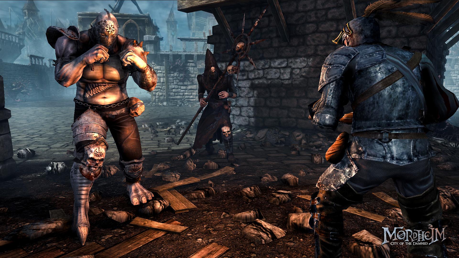 Taktické tahové RPG Mordheim předvádí bitvu 102804