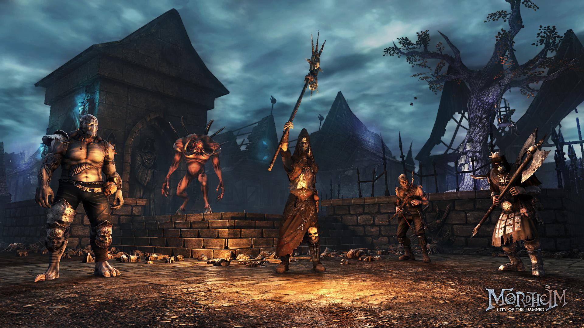 Taktické tahové RPG Mordheim předvádí bitvu 102805