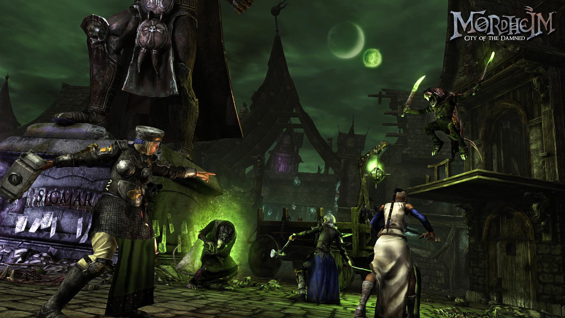 Taktické tahové RPG Mordheim předvádí bitvu 102806