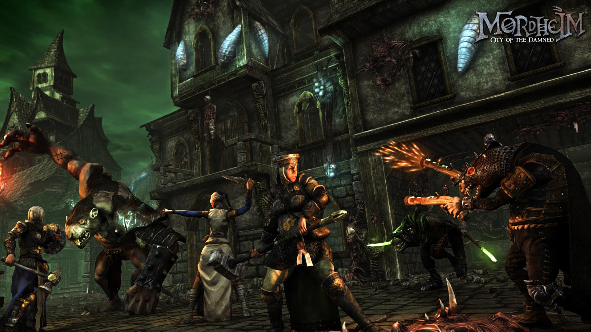 Taktické tahové RPG Mordheim předvádí bitvu 102807