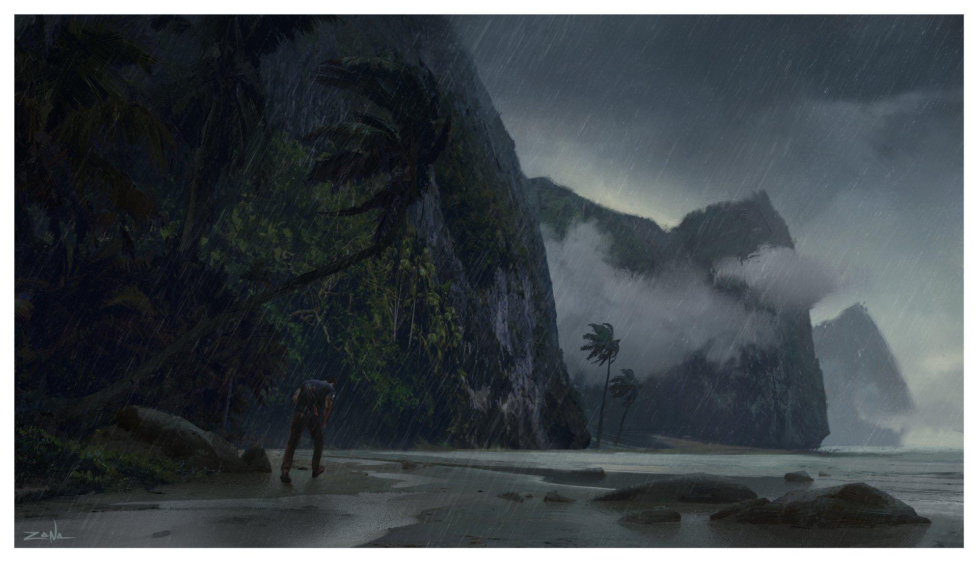 Artwork prostředí z Uncharted 4: A Thief's End 103120