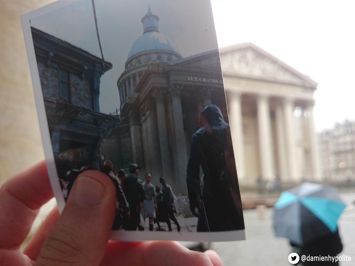 Porovnejte na fotografiích Paříž z Assassin's Creed: Unity s tou současnou 103122