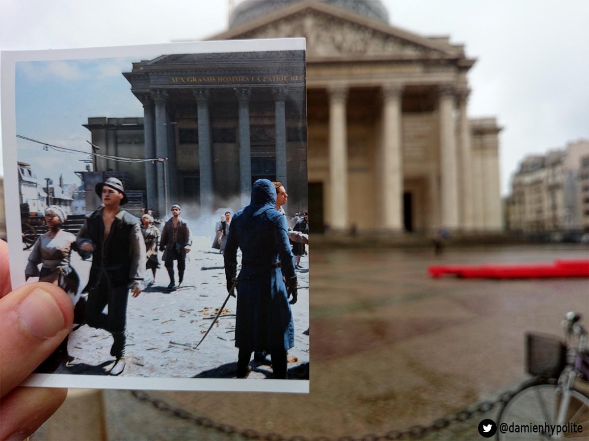Porovnejte na fotografiích Paříž z Assassin's Creed: Unity s tou současnou 103123