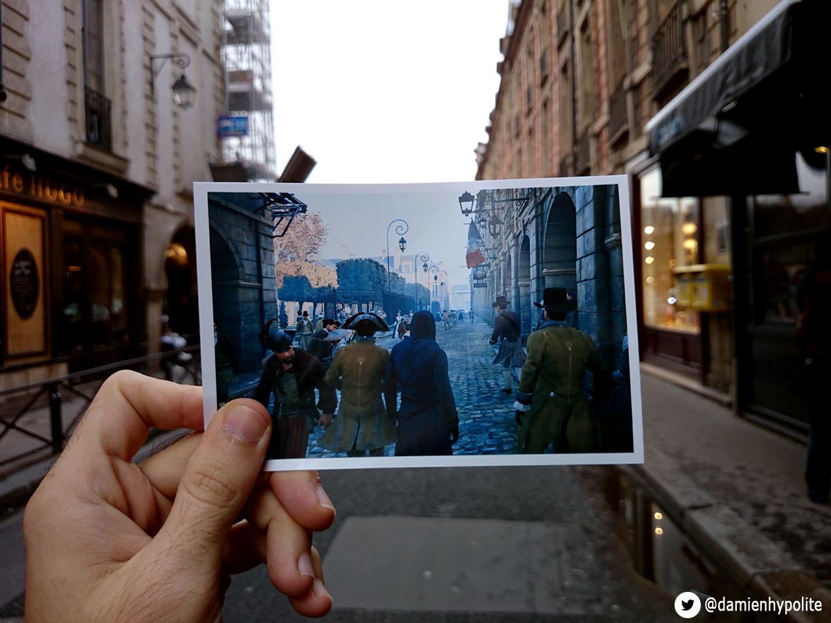 Porovnejte na fotografiích Paříž z Assassin's Creed: Unity s tou současnou 103126