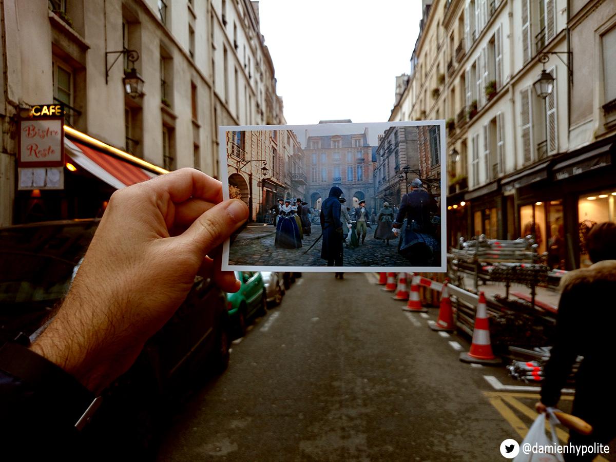Porovnejte na fotografiích Paříž z Assassin's Creed: Unity s tou současnou 103127
