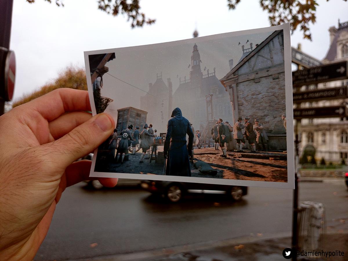 Porovnejte na fotografiích Paříž z Assassin's Creed: Unity s tou současnou 103128