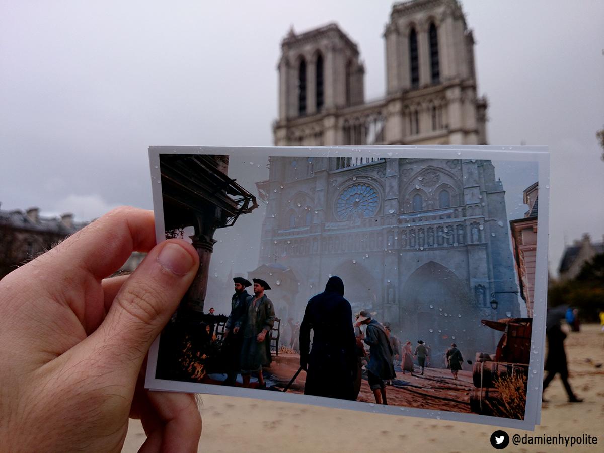 Porovnejte na fotografiích Paříž z Assassin's Creed: Unity s tou současnou 103129