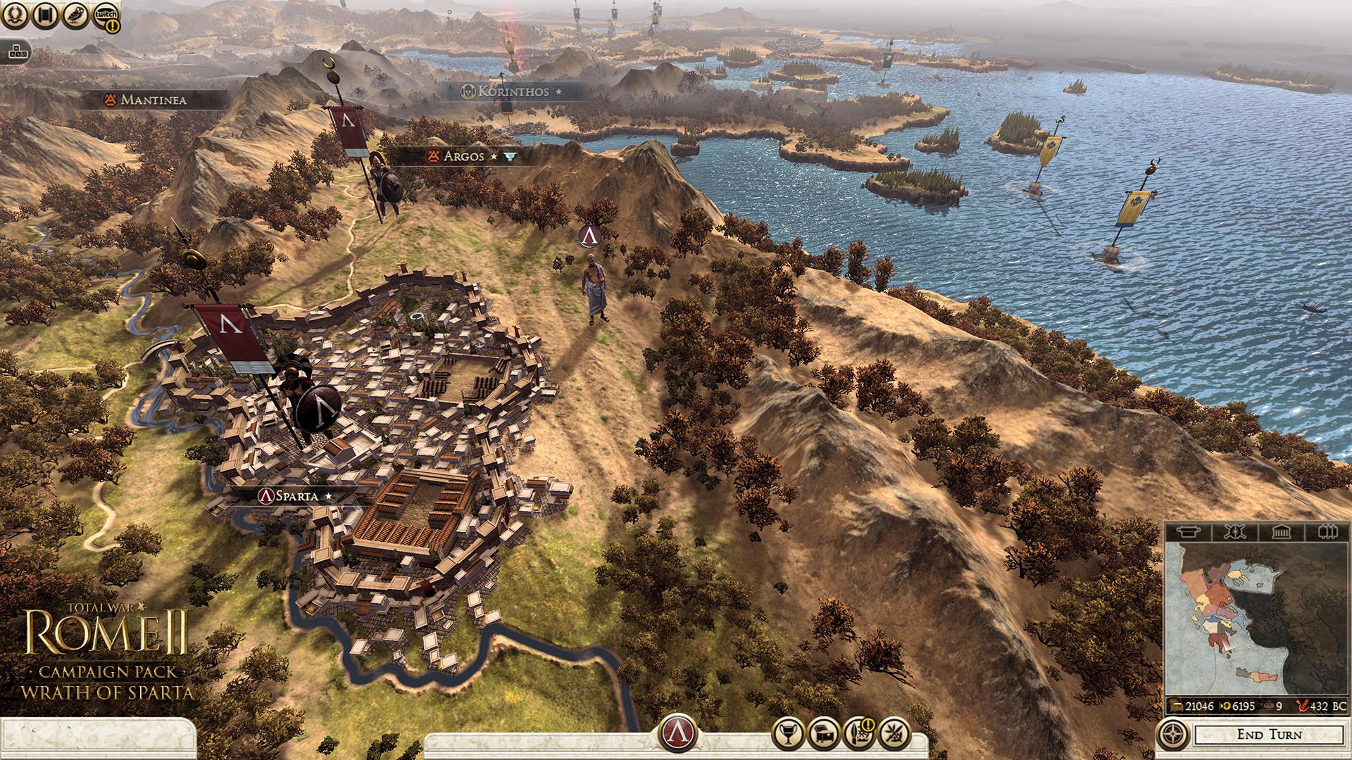 Peloponéská válka v rozšíření Total War: Rome 2 103673