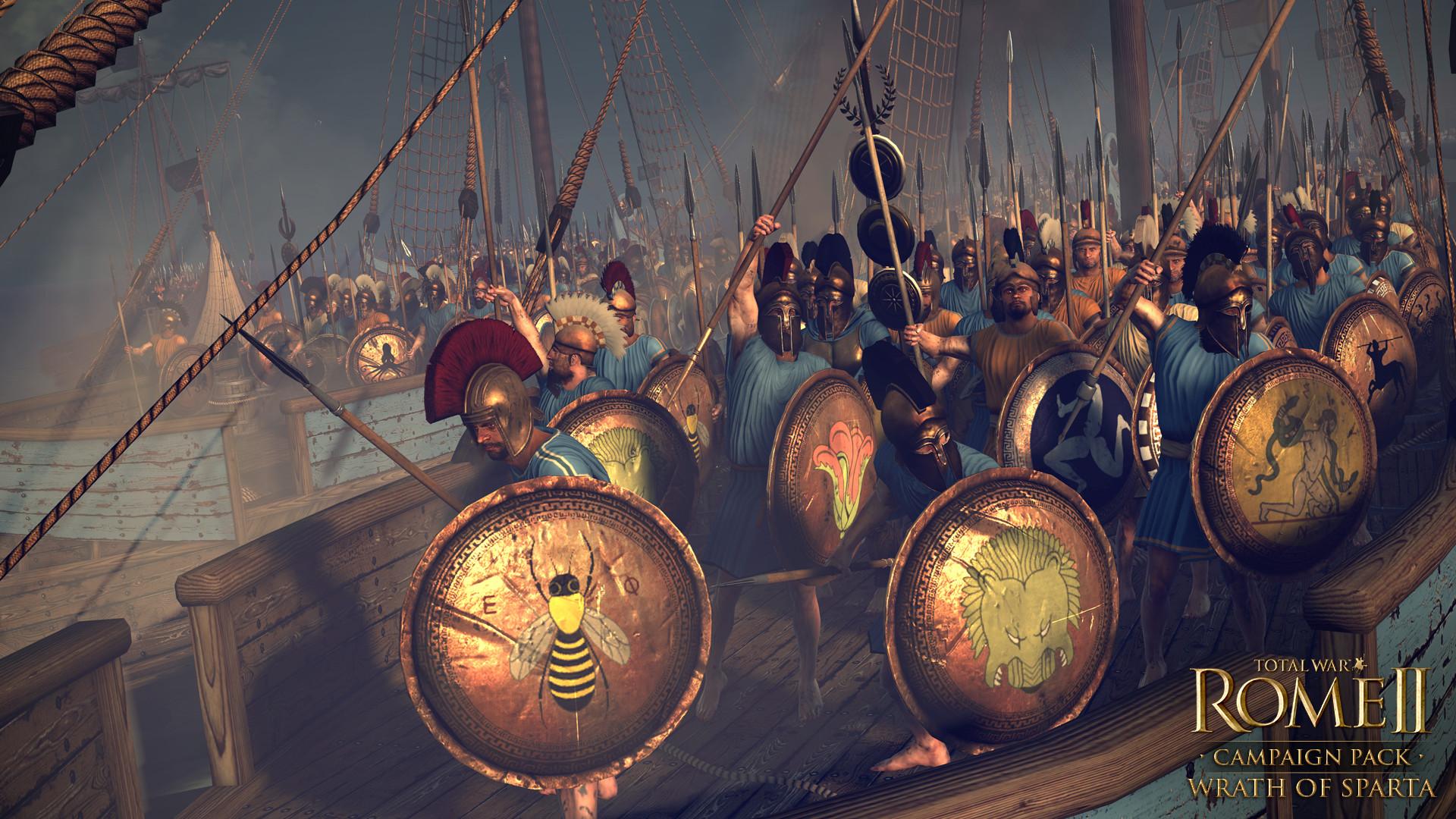 Peloponéská válka v rozšíření Total War: Rome 2 103674