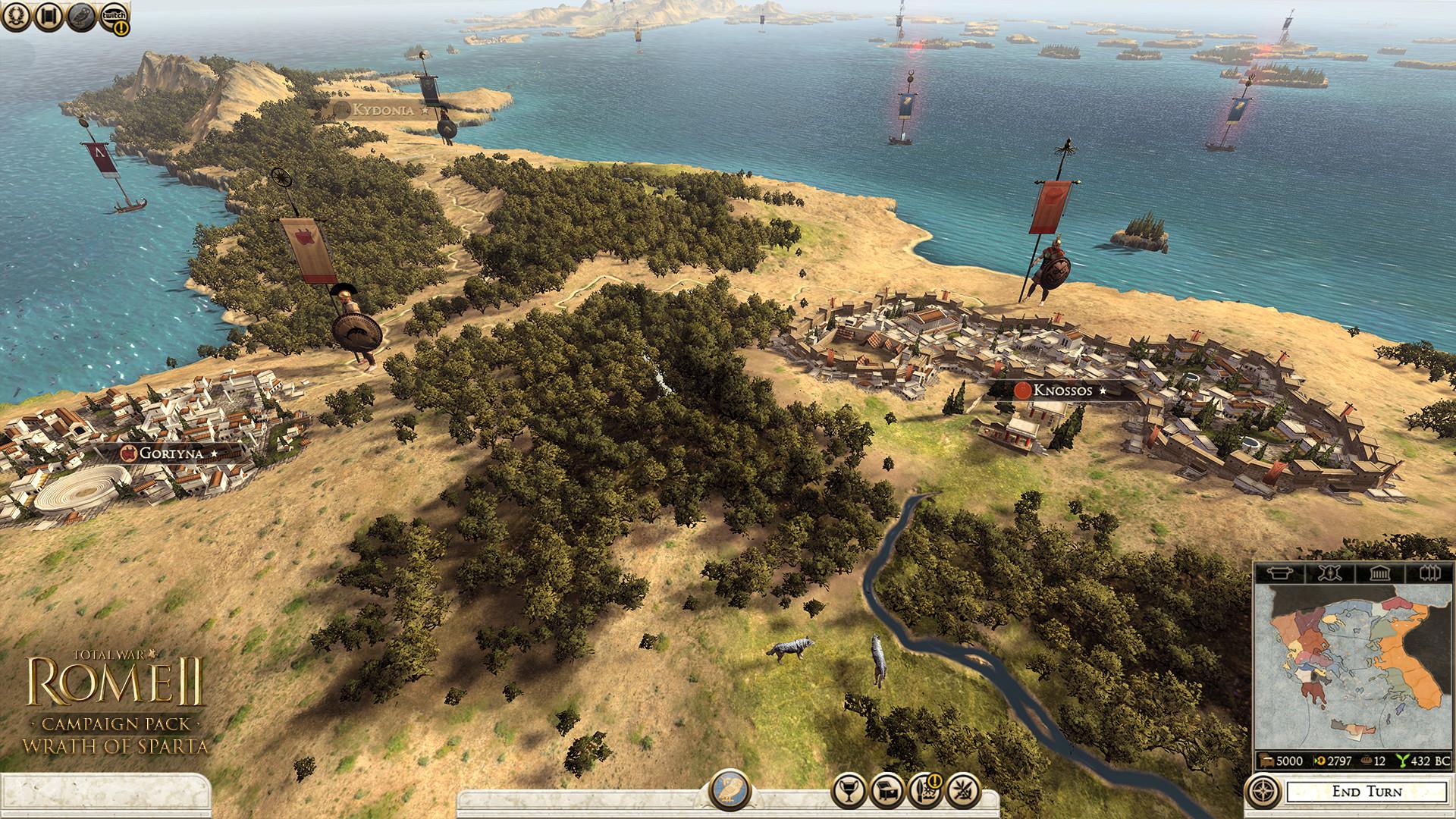 Peloponéská válka v rozšíření Total War: Rome 2 103676