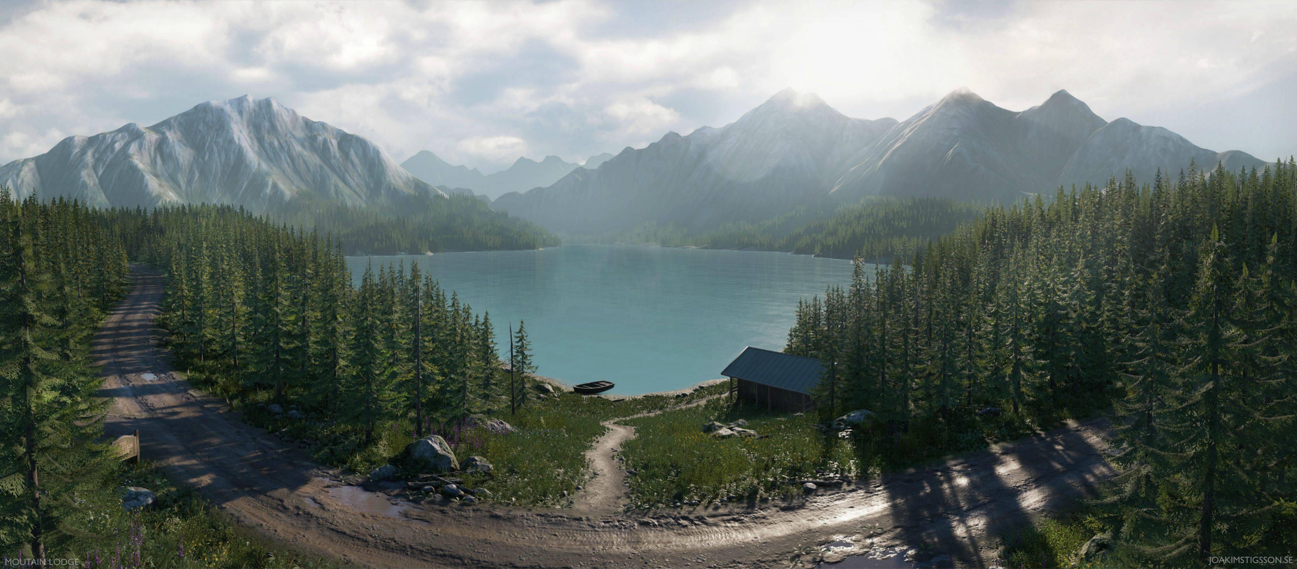 Grafik z DICE použil CryEngine k vytvoření pěkné mapy 103962
