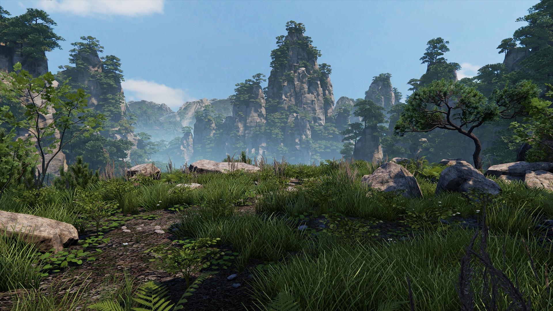 Grafik z DICE vytvořil v Unreal Engine 4 krásnou vegetaci 104183