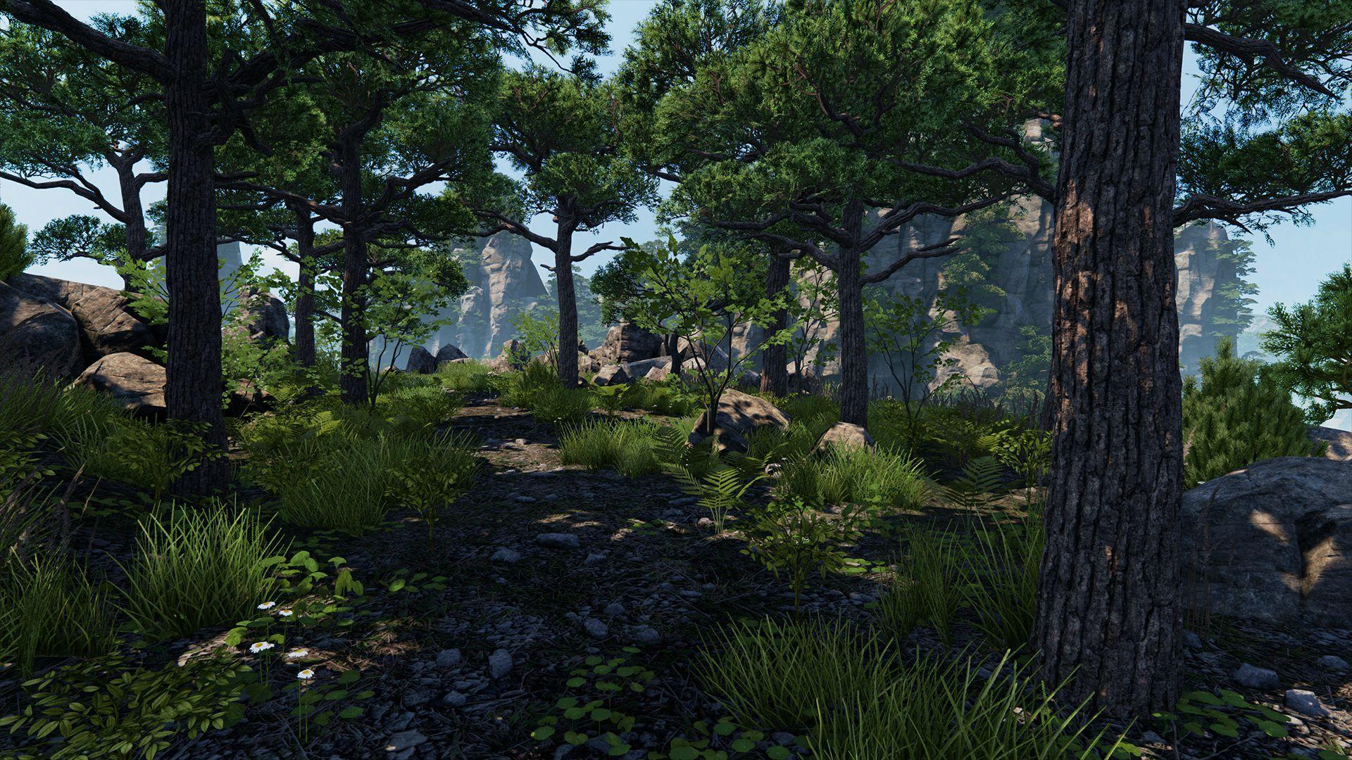 Grafik z DICE vytvořil v Unreal Engine 4 krásnou vegetaci 104184