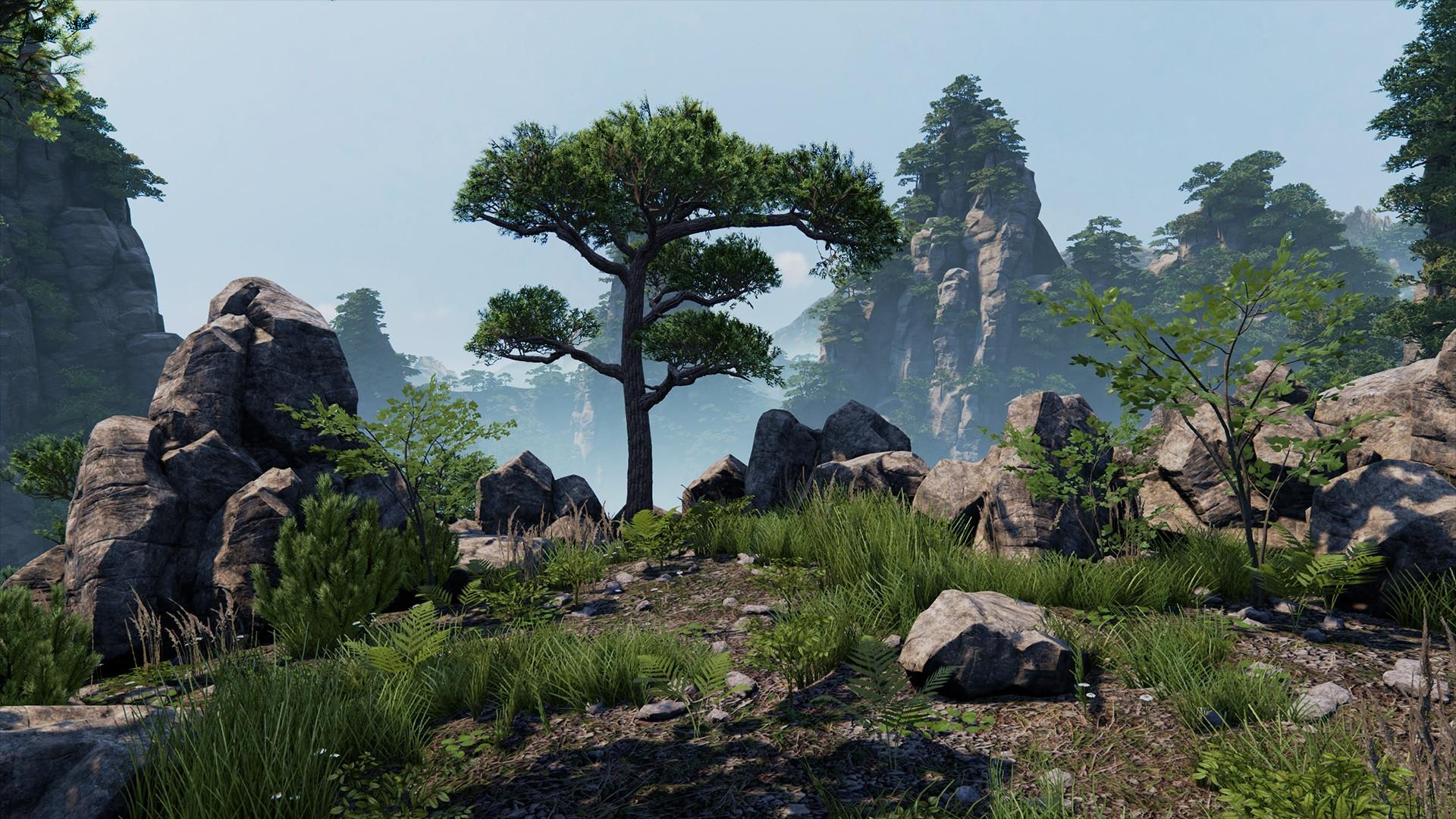 Grafik z DICE vytvořil v Unreal Engine 4 krásnou vegetaci 104185