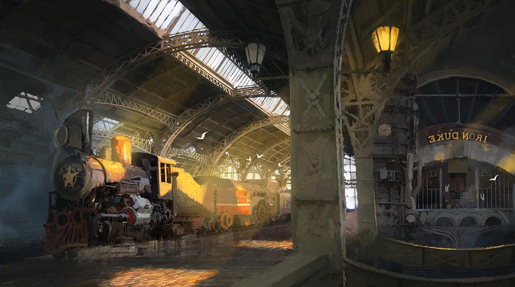 Atmosféra připomínající Metro v podání ukrajinského umělce 104313