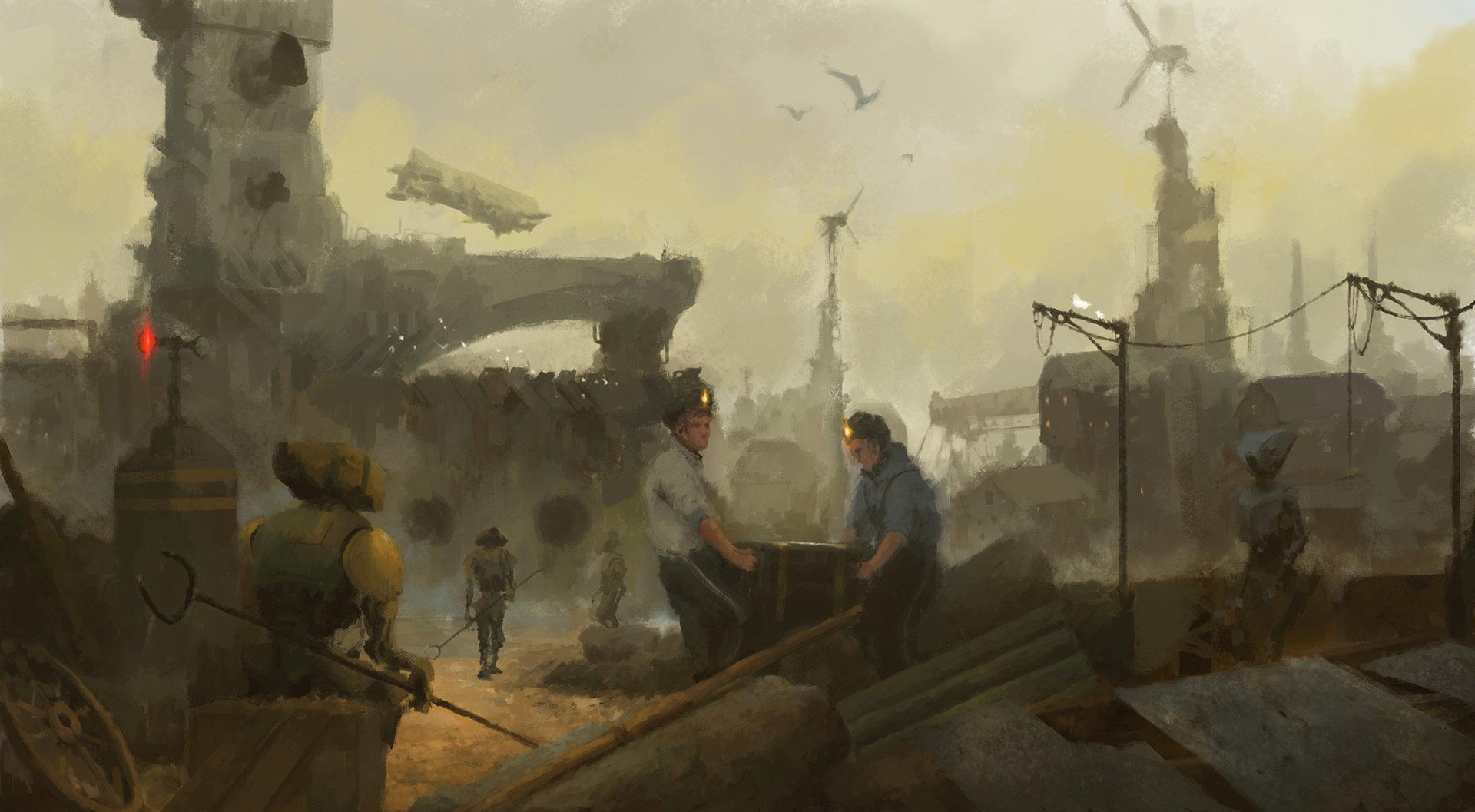 Atmosféra připomínající Metro v podání ukrajinského umělce 104315