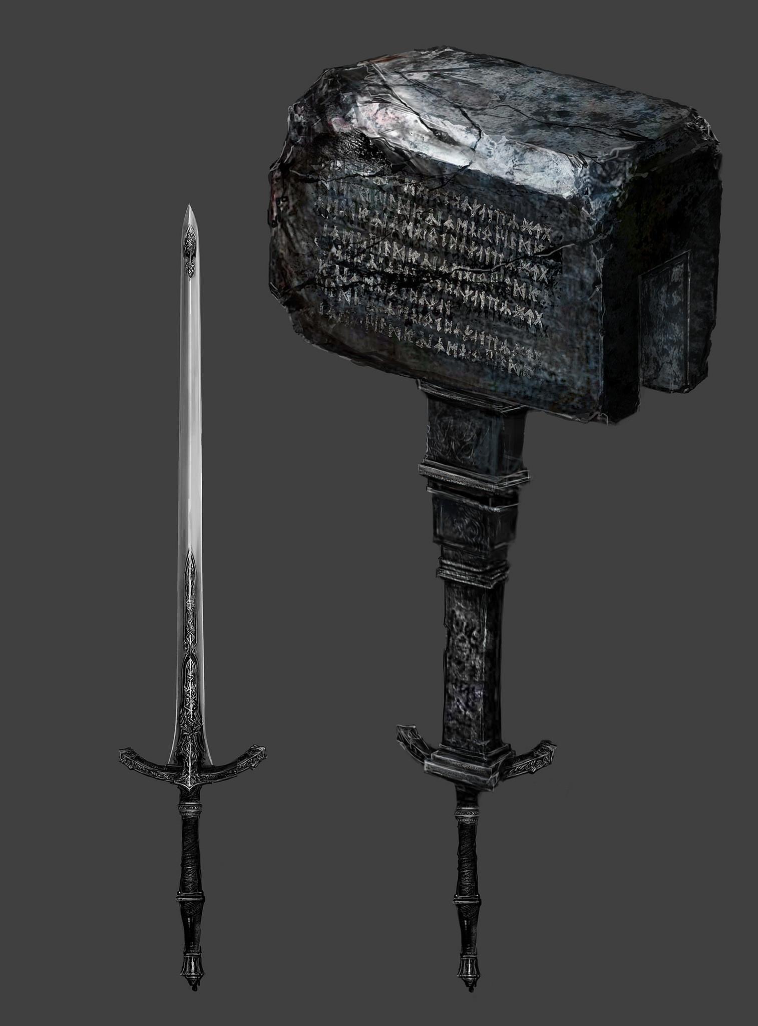 Podívejte se na některé zbraně z Bloodborne 104509