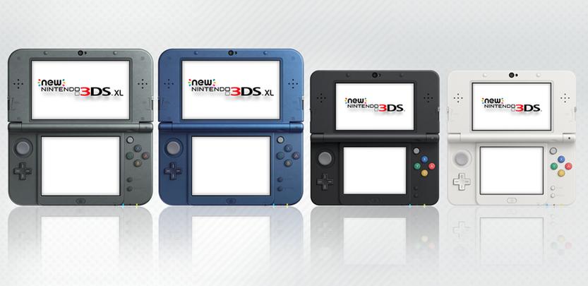 Nové Nintendo 3DS i varianta XL míří do Evropy 104619