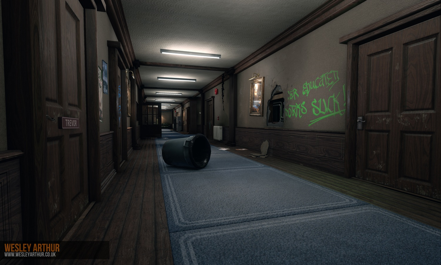 Student přepracoval Bully v Unreal Engine 4 104660