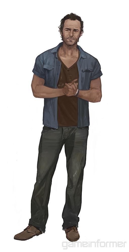 Koncepty vedlejších postav z Uncharted 4 104700