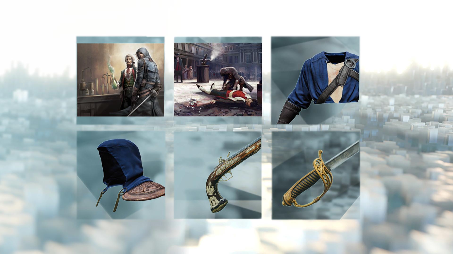 Tři mise, devět zbraní a nové vybavení do Assassin's Creed: Unity 104783