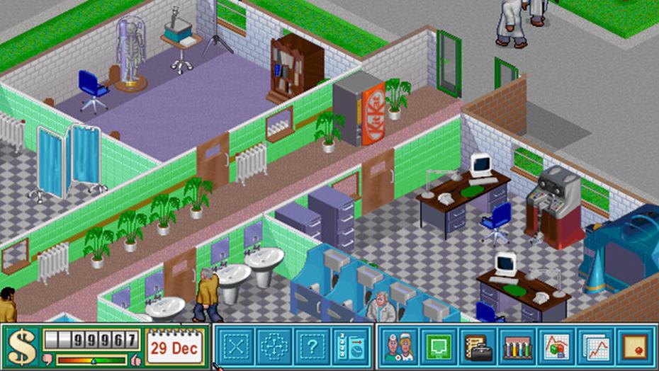 Theme Hospital zdarma na Originu 104784
