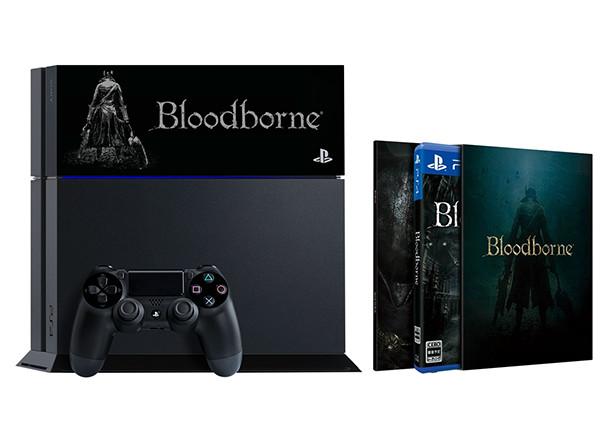 Limitovaná bílá a černá edice PS4 s Bloodborne 104797