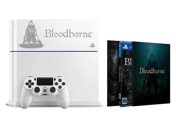 Limitovaná bílá a černá edice PS4 s Bloodborne 104798