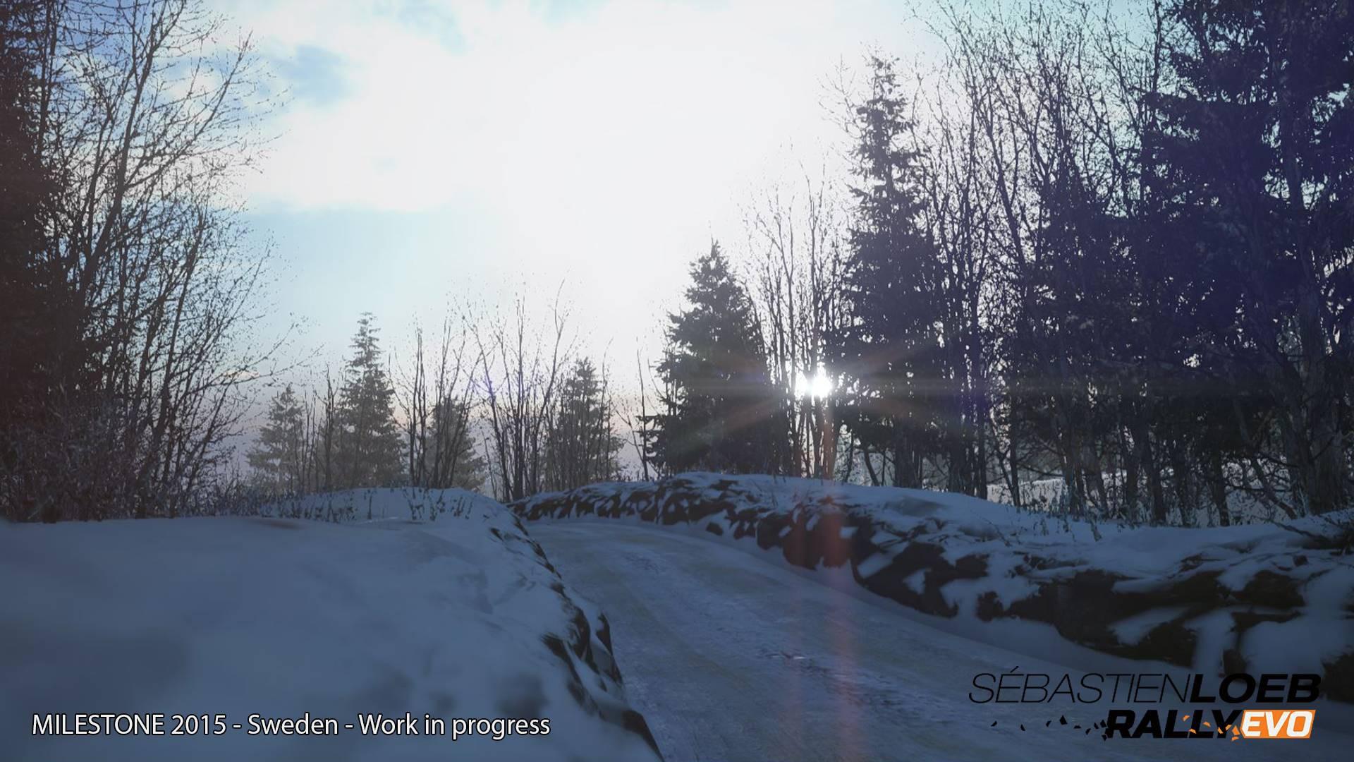 Zasněžené Švédsko na prvních obrázcích ze Sébastien Loeb Rally Evo 104848