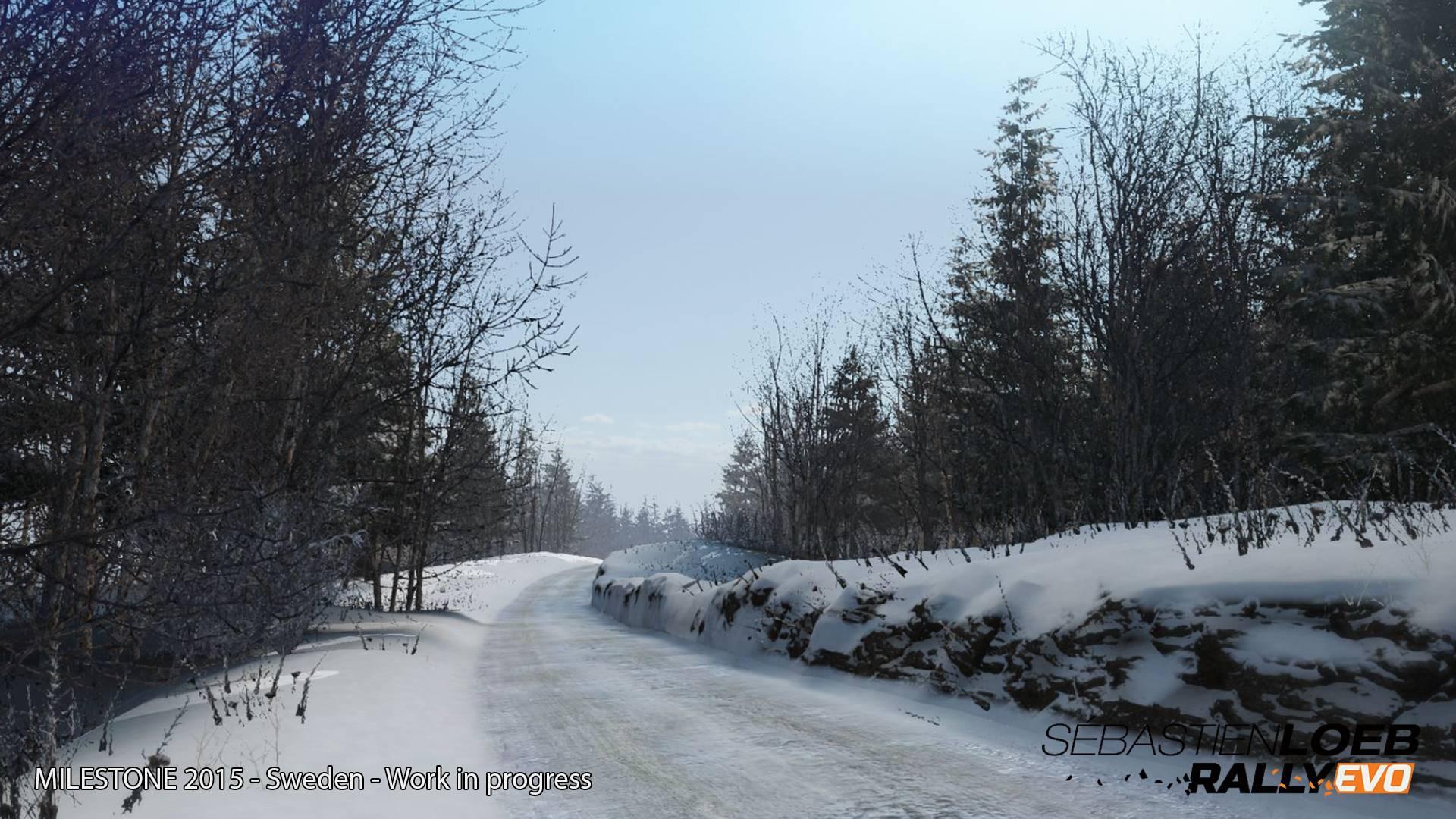 Zasněžené Švédsko na prvních obrázcích ze Sébastien Loeb Rally Evo 104855