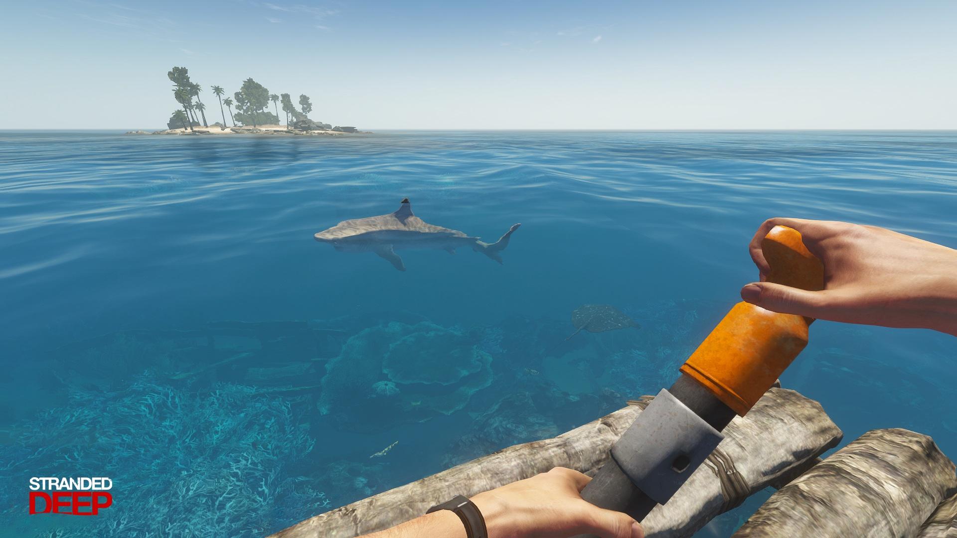 Přežili byste na ostrově? Vyzkoušet si to můžete ve hře Stranded Deep 104950