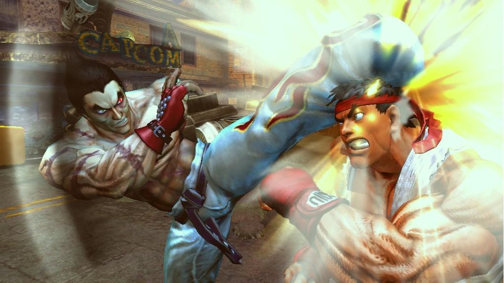 Tekken x Street Fighter oznámen na Comic-Conu 10502