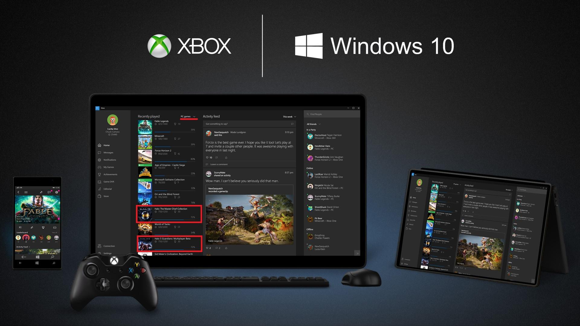 Dostanou se Xbox One hry od Microsoftu na PC? 105024