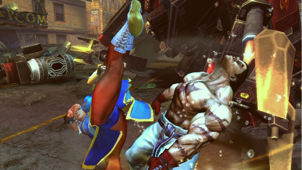 Tekken x Street Fighter oznámen na Comic-Conu 10503