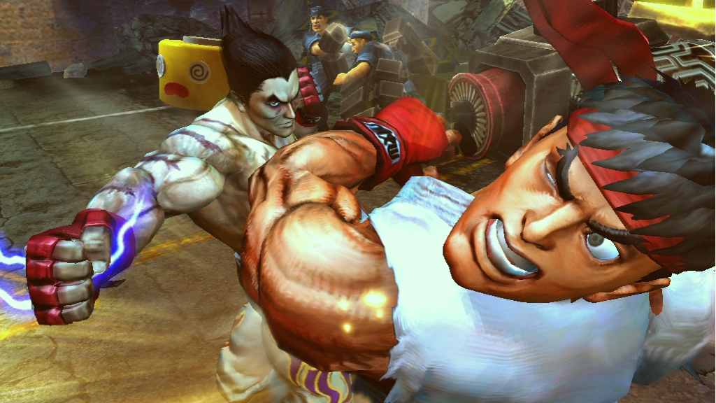 Tekken x Street Fighter oznámen na Comic-Conu 10504