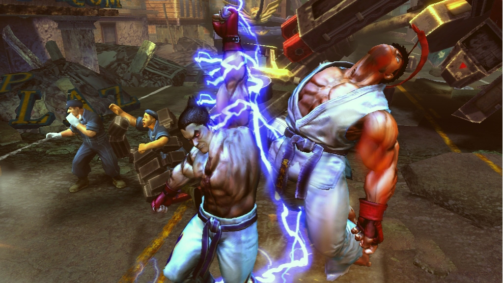 Tekken x Street Fighter oznámen na Comic-Conu 10506