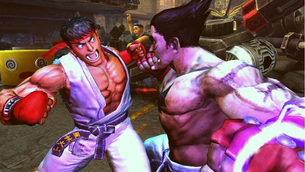 Tekken x Street Fighter oznámen na Comic-Conu 10507