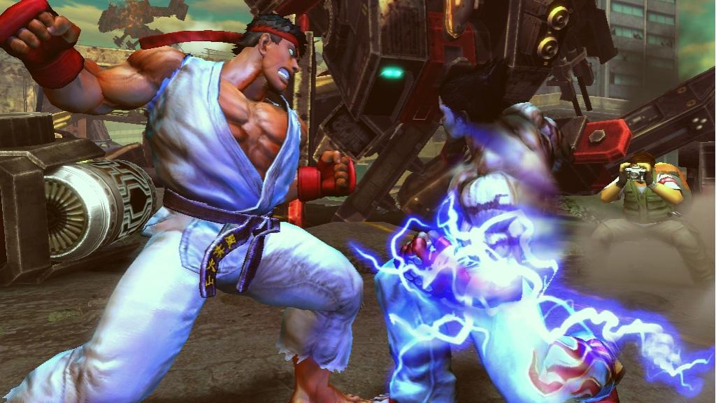 Tekken x Street Fighter oznámen na Comic-Conu 10508