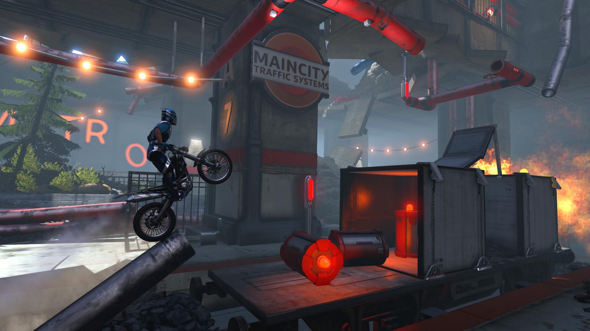 Trials Fusion - s motorkou do pekelného horka 105082