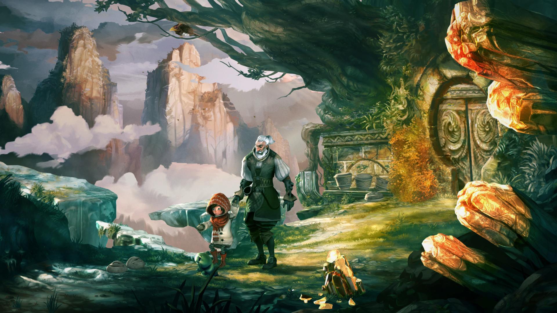 Ukázka z pohádkové adventury Silence: The Whispered 105143