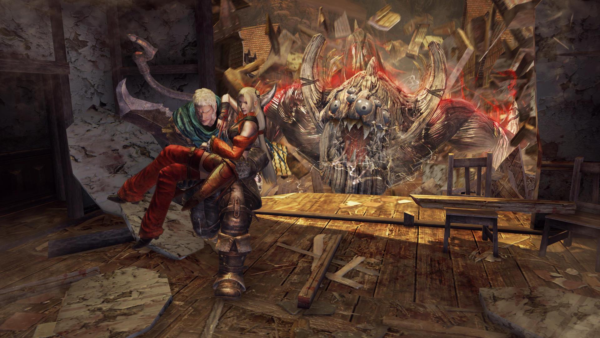 Galerie z brutální akce Knights Contract 10541