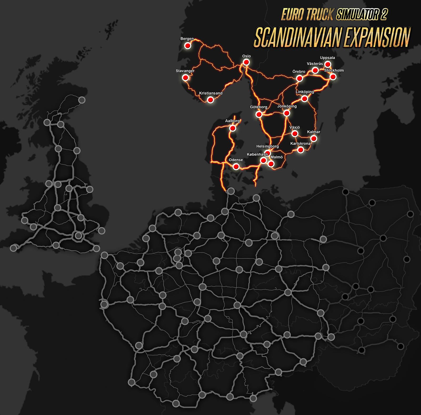 Jak velká bude Skandinávie v Euro Truck Simulator 2? 105427