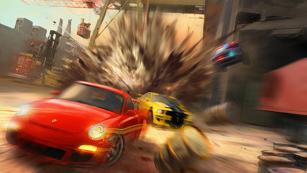 Zrušený Driver se podobal explozivnímu Split/Second 105459