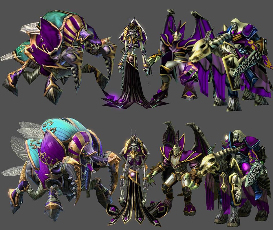 Prvky Warcraftu 3 zpřístupněny modderům StarCraftu 2 105465