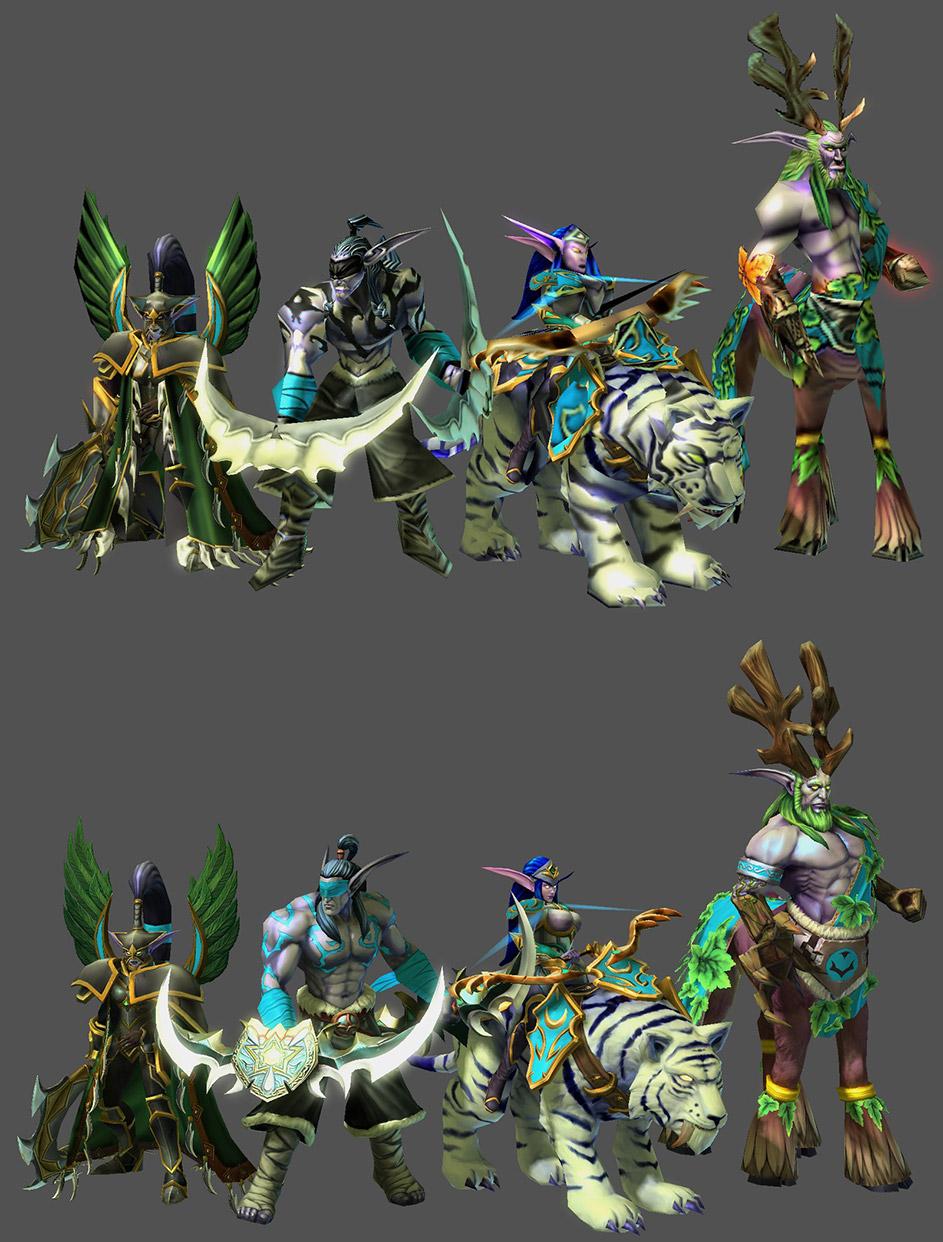 Prvky Warcraftu 3 zpřístupněny modderům StarCraftu 2 105466