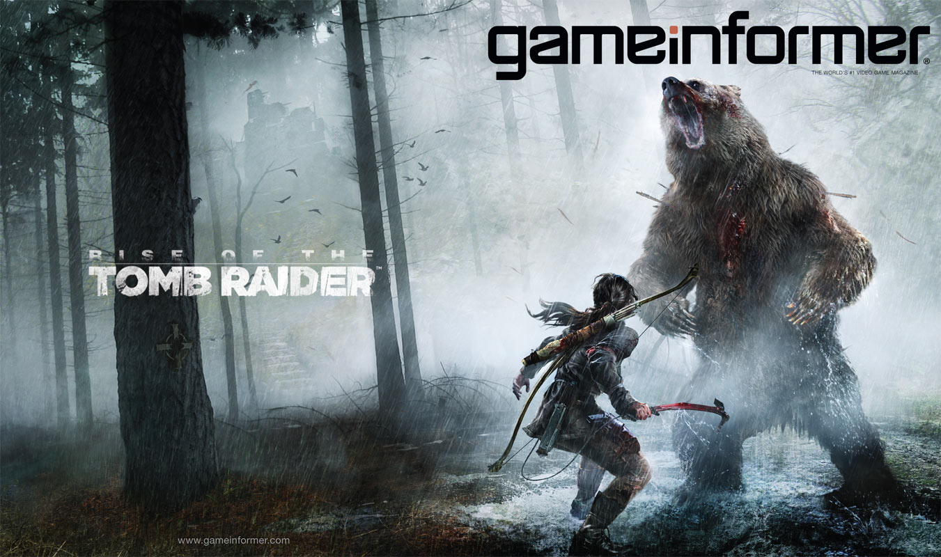 Laru Croft v Rise of the Tomb Raider bude na Sibiři ohrožovat medvěd 105506