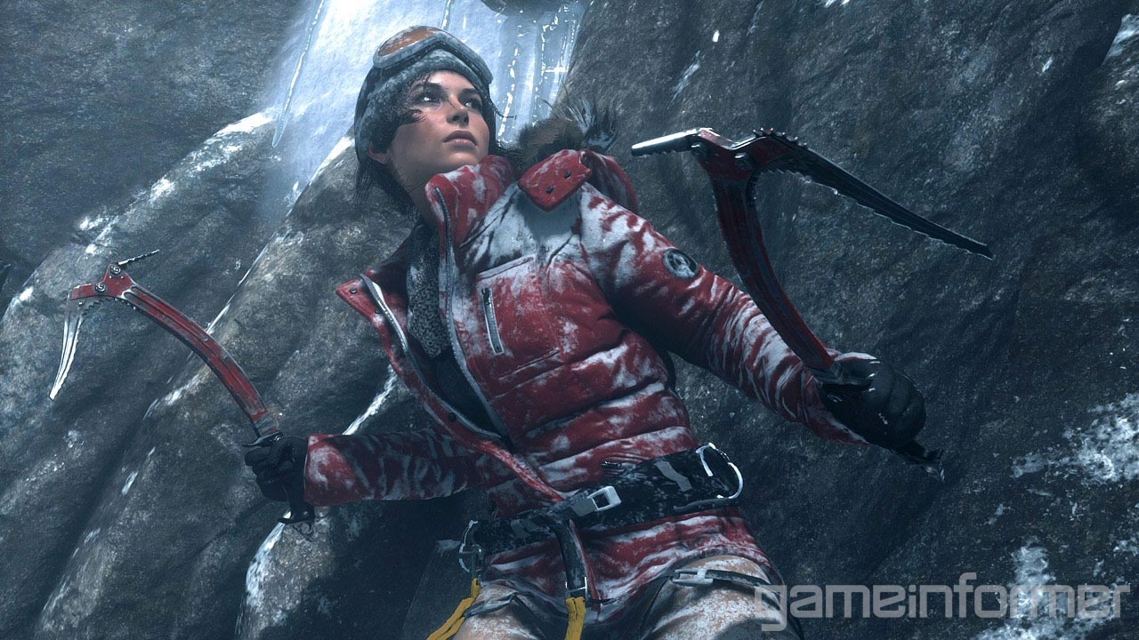 Laru Croft v Rise of the Tomb Raider bude na Sibiři ohrožovat medvěd 105507