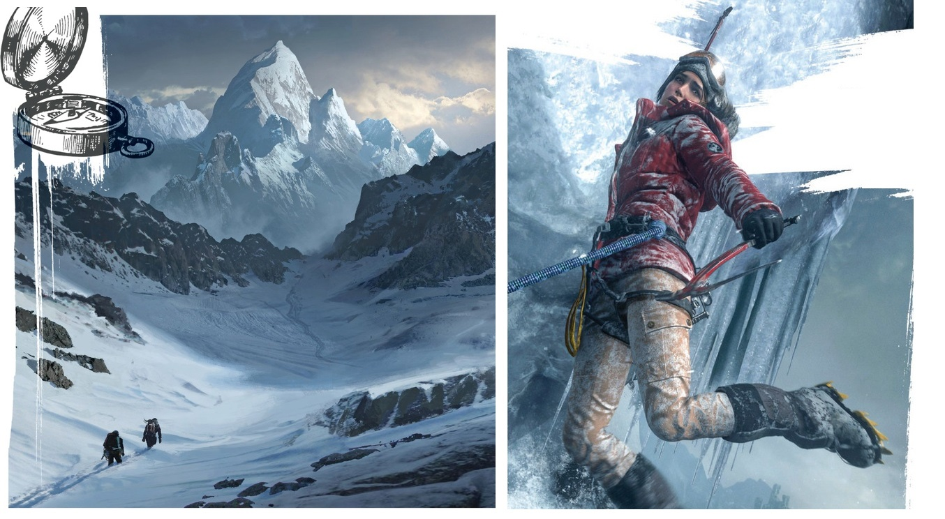 Laru Croft v Rise of the Tomb Raider bude na Sibiři ohrožovat medvěd 105526