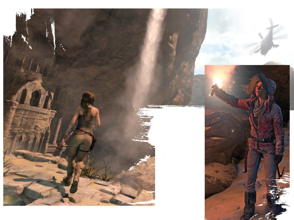 Laru Croft v Rise of the Tomb Raider bude na Sibiři ohrožovat medvěd 105529